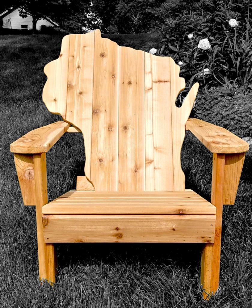 Wisconsin Adirondack Chair